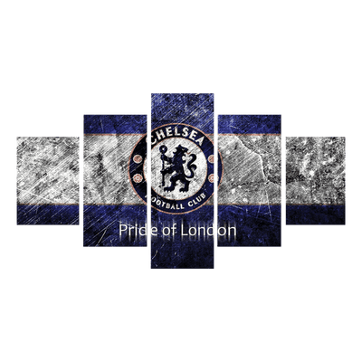 Pride of London canvas wall art