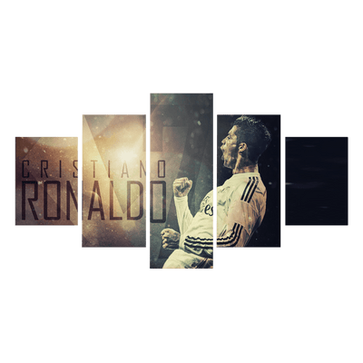 Cristiano Ronaldo Canvas Wall Art