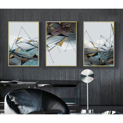 3 PCS Abstract Canvas Prints
