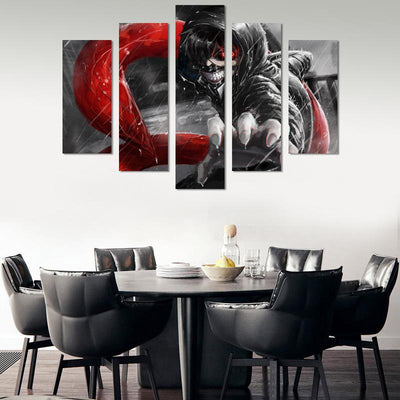 Ken Kaneki Canvas Wall Art