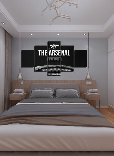The Arsenal Canvas Wall Art - Canvas Monsters