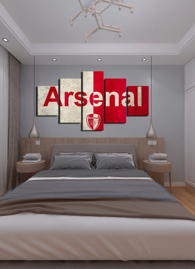 Arsenal Canvas Wall Art - Canvas Monsters