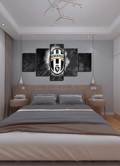 Juventus Canvas Wall Art - Canvas Monsters