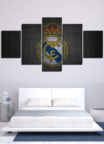 Vintage Real Madrid Flag