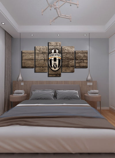 Vintage Juventus Canvas Wall Art - Canvas Monsters