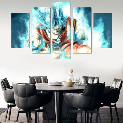 Dragon Ball Goku Canvas Wall Art