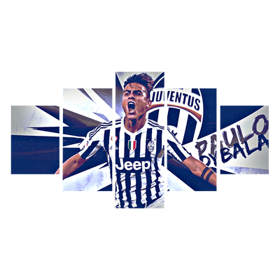 Paulo Dybala Canvas Wall Art - Canvas Monsters