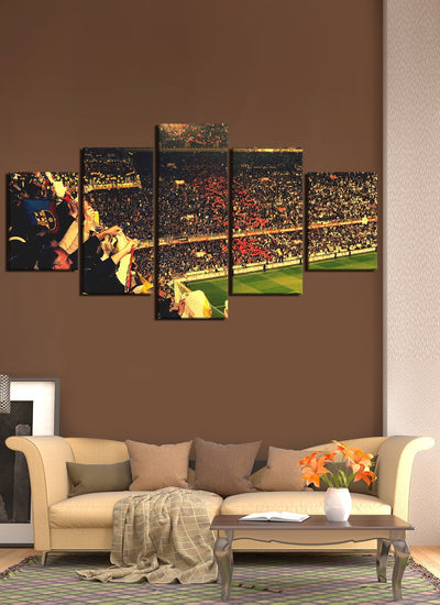 Barcelona - Camp Nou - Canvas Monsters