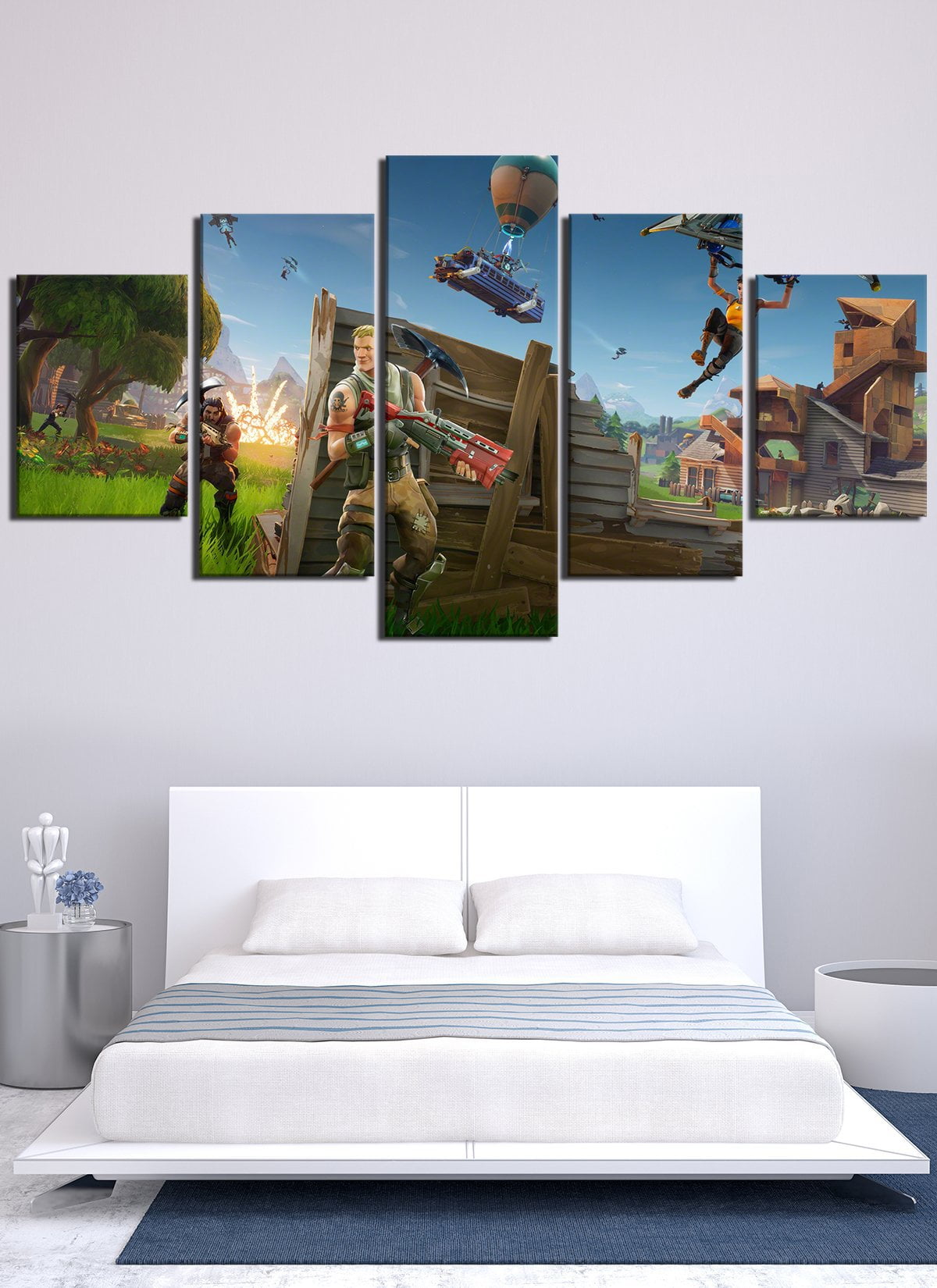 Fortnite Canvas Wall Art Canvas Stand Canvas Art Work