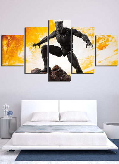 Avengers Black Panther Wakanda - Canvas Monsters