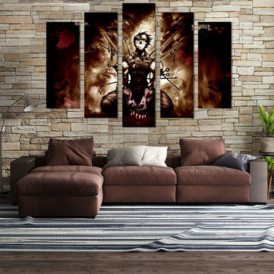 Momochi Zabuza Canvas Wall Art