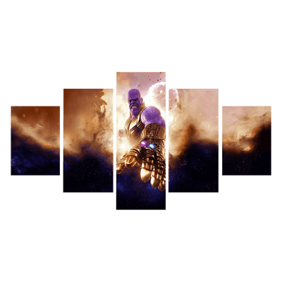 Avengers Thanos With All Infinity Stones