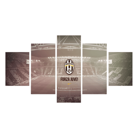 Forza Juventus Canvas Wall Art