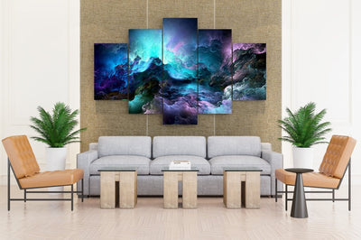 Rainbow Clouds - Canvas Monsters