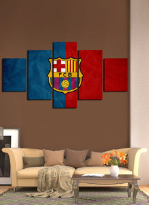 Barcelona Red & Blue Flag