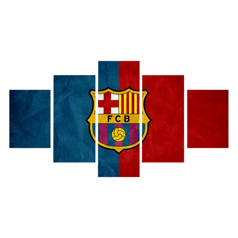 Image of Barcelona Red & Blue Flag
