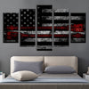 5pcs Arrow American flag Canvas Prints - Canvas Monsters