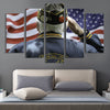 Veteran salute American Flag Canvas Prints - Canvas Monsters