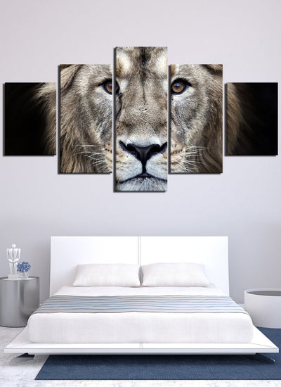 Cool Lion Canvas Wall Art