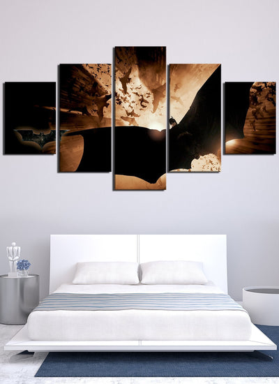 Flying Batman Canvas Wall Art