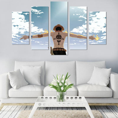 One Piece Canvas Wall Art - Canvas Monsters