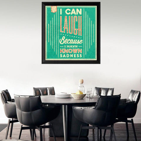 I Can Laugh Canvas Wall Art