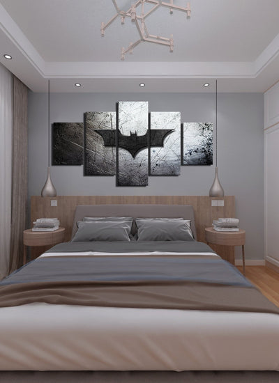 Batman Symbol Canvas Wall Art