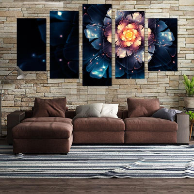 Nature Artistic Flower Canvas Wall Art - Canvas Monsters