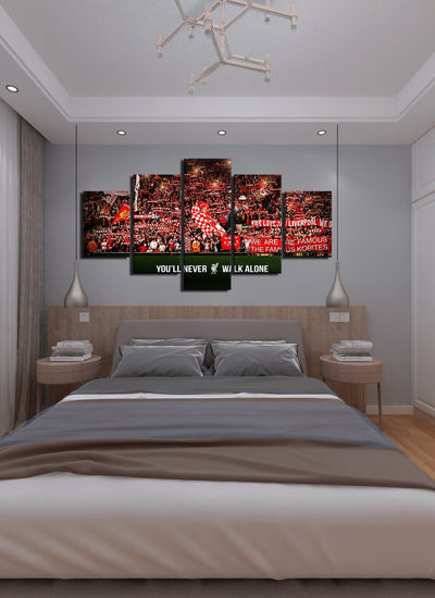 Liverpool - Anfield Stadium - Canvas Monsters