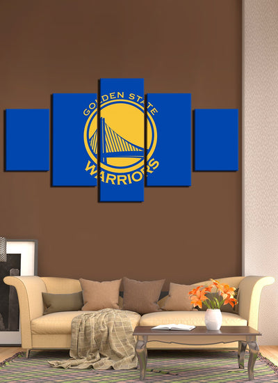 Golden State Warriors Flag - Canvas Monsters