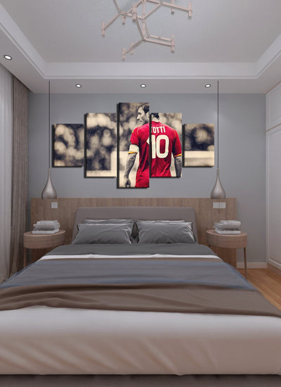 King Of Roma Canvas Wall Art