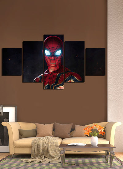 Avengers New Suit Spider Man - Canvas Monsters