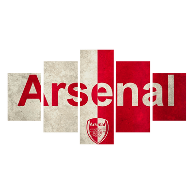 Arsenal canvas wall art