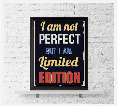 I Am Limited Edition Canvas Wall Art