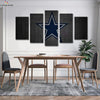 Dallas Cowboys Logo Canvas Wall Art - Canvas Monsters