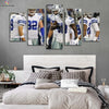 Dallas Cowboys Team Canvas Wall Art - Canvas Monsters
