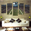 Dallas Cowboys Stadium View Canvas Wall Art - Canvas Monsters