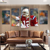 New England Patriots Commander Tom Brady canvas prints