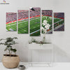 New England Patriots Stadium View  canvas prints