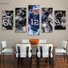 New England Patriots Shining Tom Brady canvas prints