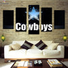 Dallas Cowboys Logo 2 Canvas Wall Art - Canvas Monsters