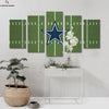 Dallas Cowboys Logo 3 Canvas Wall Art - Canvas Monsters
