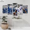 Dallas Cowboys Dez Bryant Canvas Wall Art - Canvas Monsters