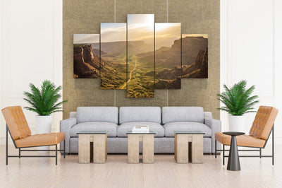 USA Parks Mesa Arch Canyonlands National Park Crag - Canvas Monsters