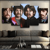 The Beatles - Retro Portrait - Canvas Monsters