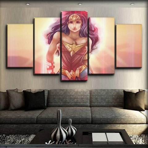 Image of Wonder Woman - The Cute Version
