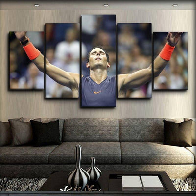 Rafael Nadal - 8 - Canvas Monsters