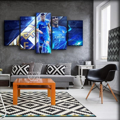 Real Madrid - Gareth Bale 11 - Canvas Monsters