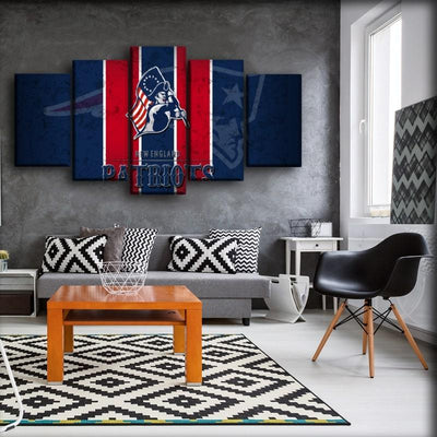 New England Patriots - Canvas Monsters
