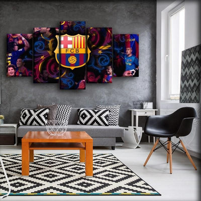 Barcelona - Team Background - Canvas Monsters